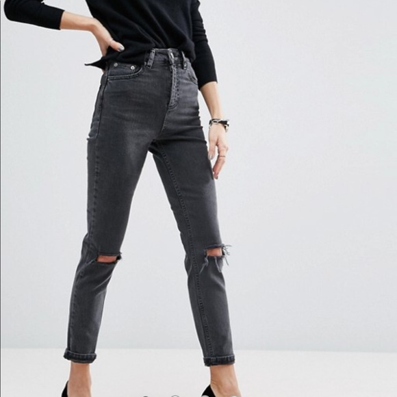 289947c5ac4 ASOS Denim - ASOS Design Farleigh High Waist Slim Mom Jeans